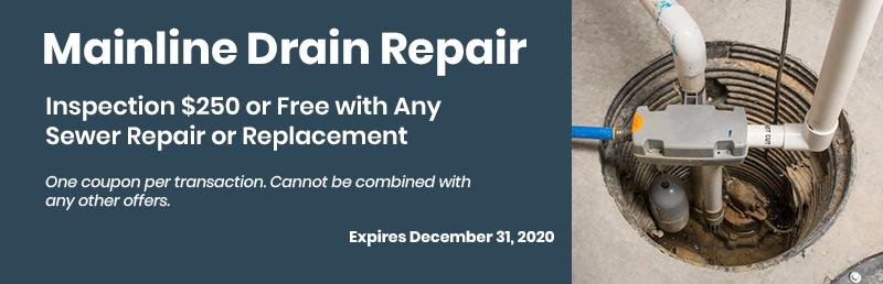 Mainline Drain Repair