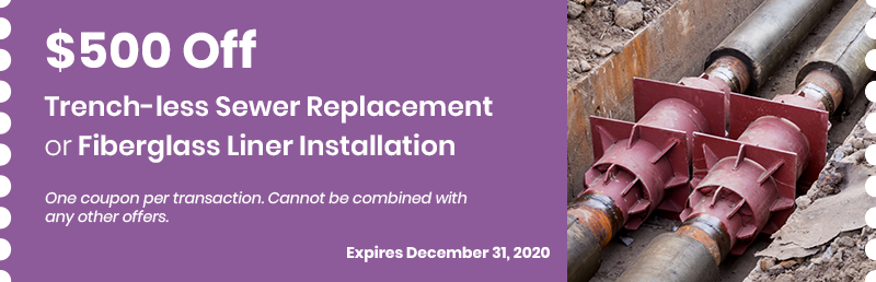 Trench-less Sewer Replacement