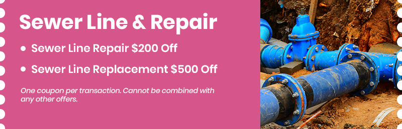 Sewer Line Replacement and Repairs